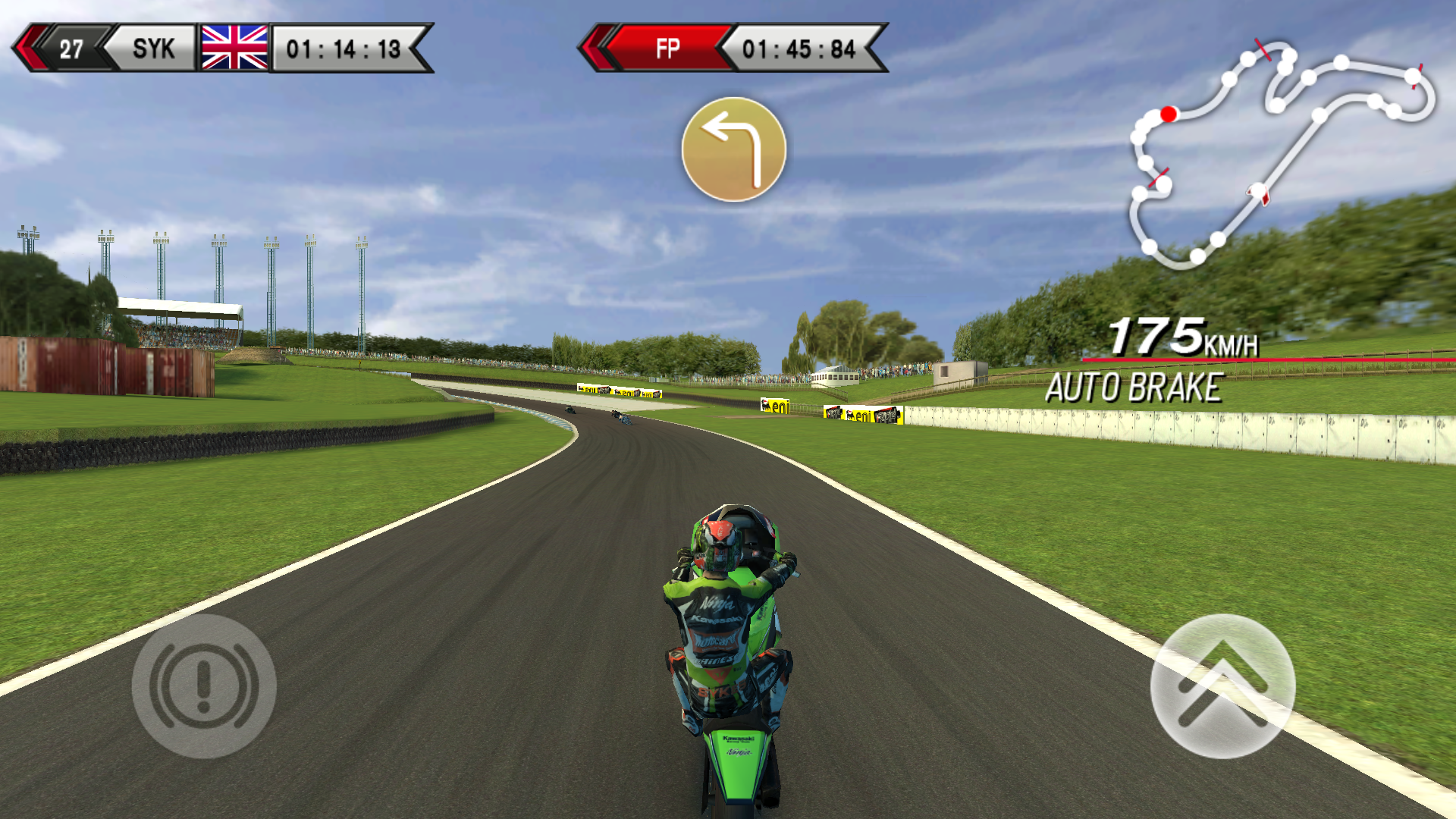 SBK14 Official Mobile Game androidアプリスクリーンショット1