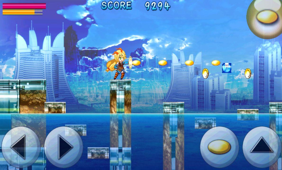 ユニティちゃんのアクションシューティング androidアプリスクリーンショット1