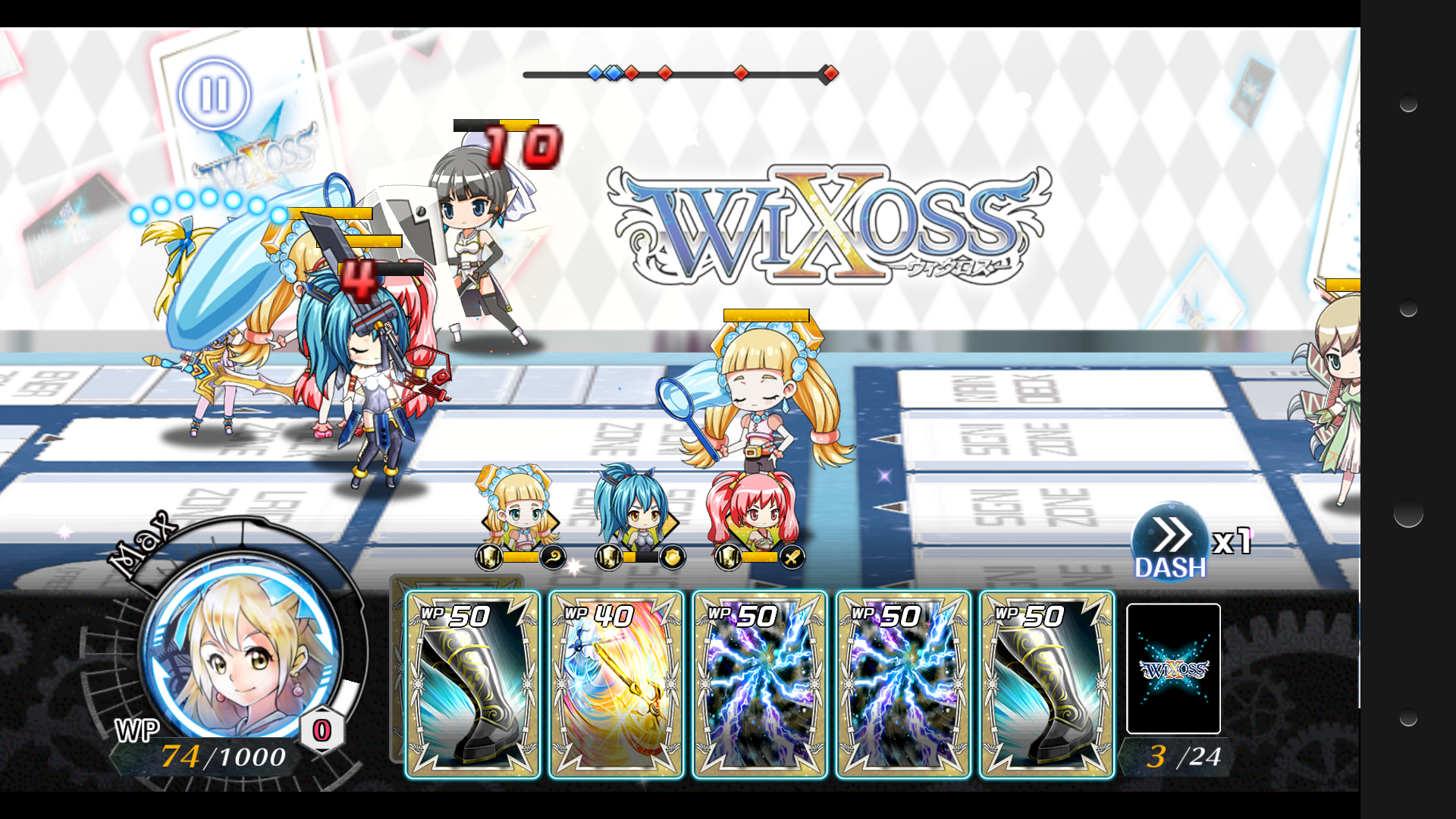 selector battle with WIXOSSの...