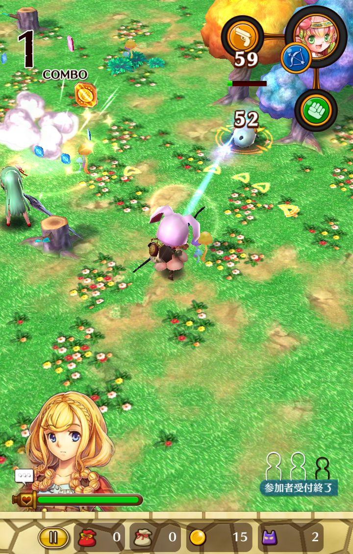 リリーと魔神の物語 androidアプリスクリーンショット1