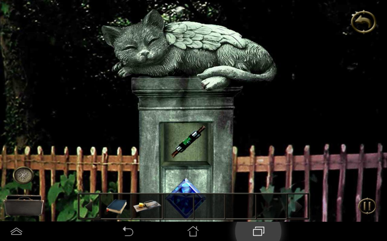 ホーンテッドホロウの謎 androidアプリスクリーンショット1