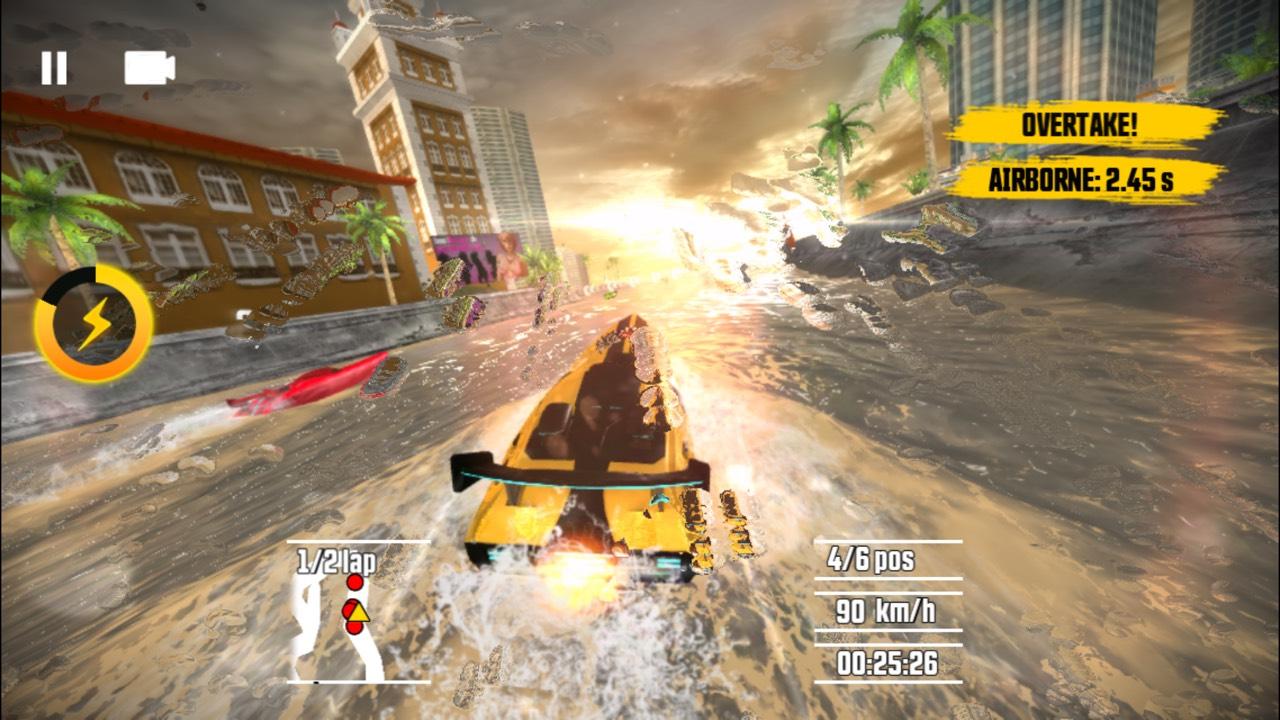 ドライバー スピードボートパラダイス androidアプリスクリーンショット1