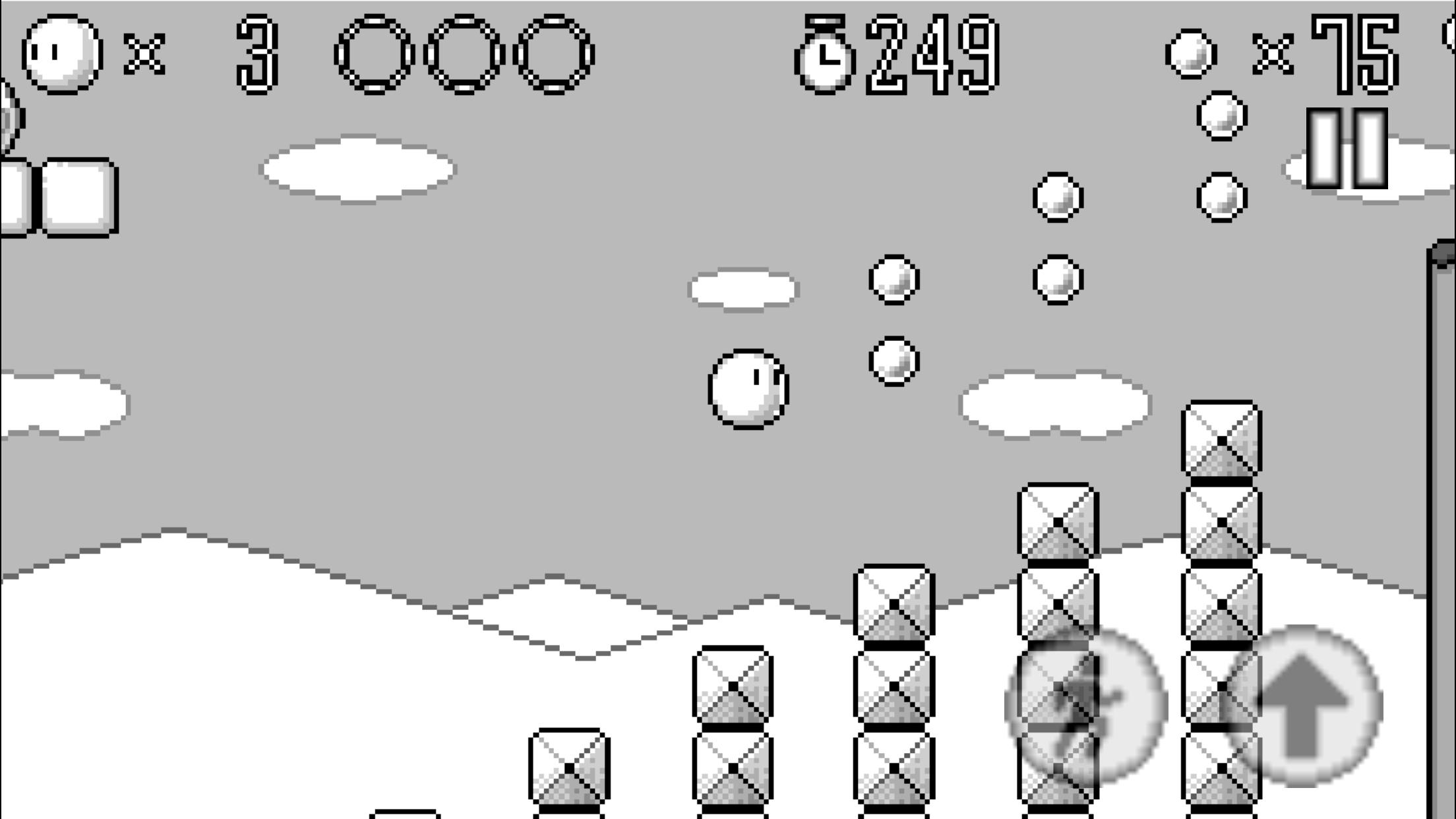 遊んで作れる!!お団子アクションゲーム androidアプリスクリーンショット1