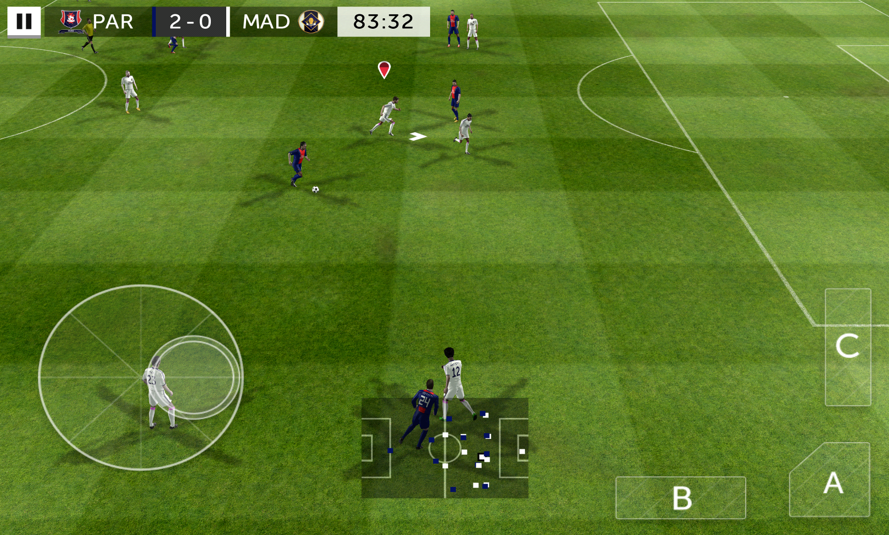 First Touch Soccer 2015 androidアプリスクリーンショット1