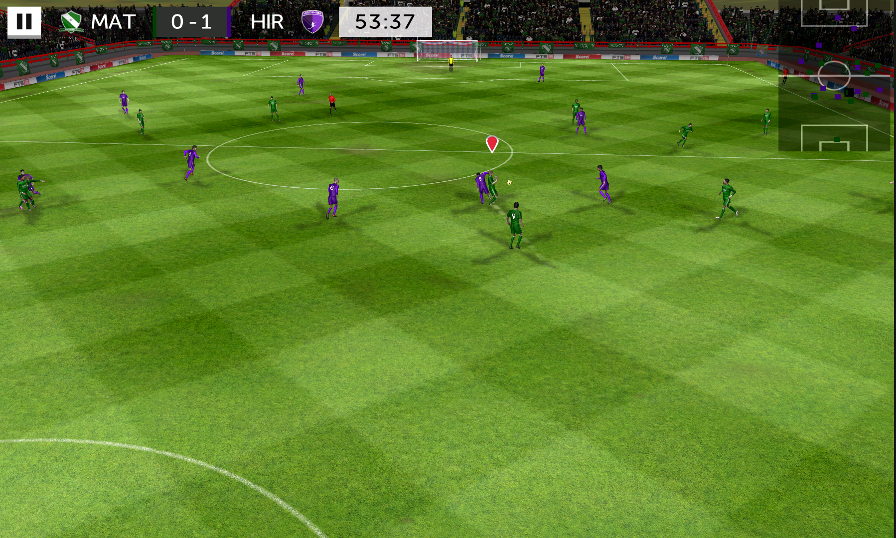 First Touch Soccer 2015 androidアプリスクリーンショット3