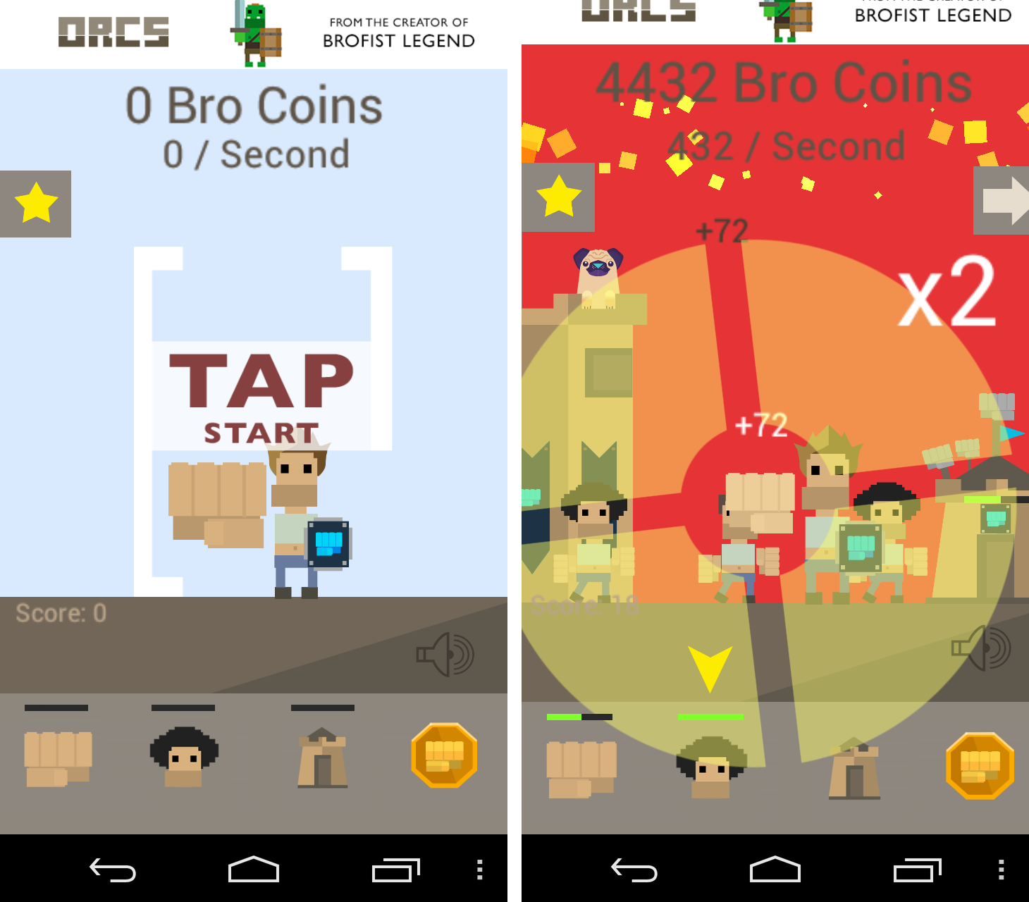 Brofist Legend androidアプリスクリーンショット1