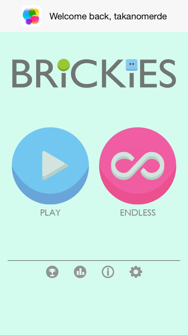 androidアプリ Brickies攻略スクリーンショット1