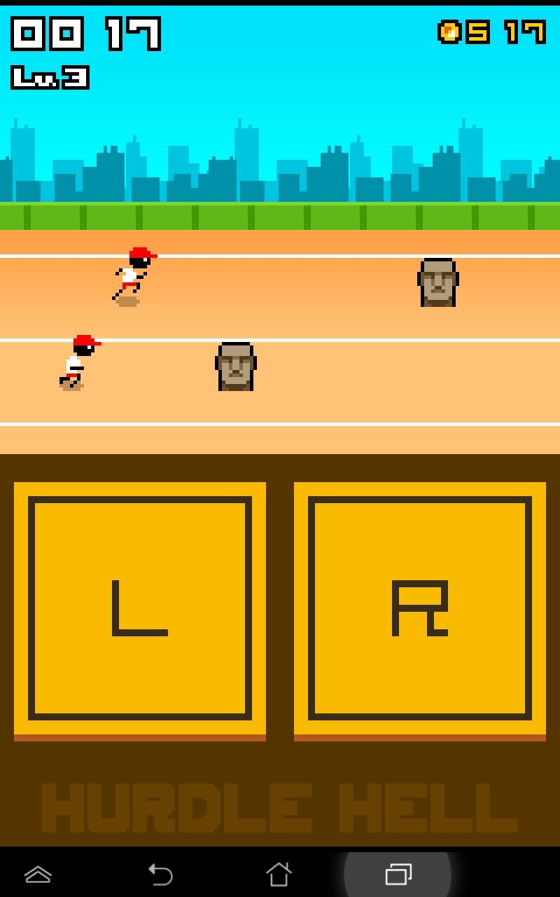 ハードル地獄ターボ androidアプリスクリーンショット1