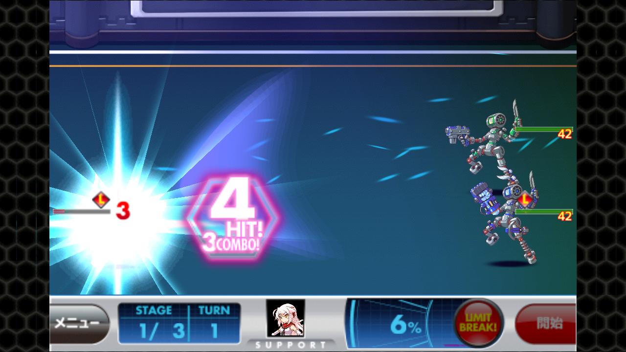 女子メカ! -ねじまき学園生徒会戦記- androidアプリスクリーンショット1