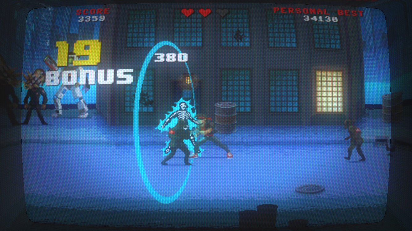 Kung Fury: Street Rage androidアプリスクリーンショット1