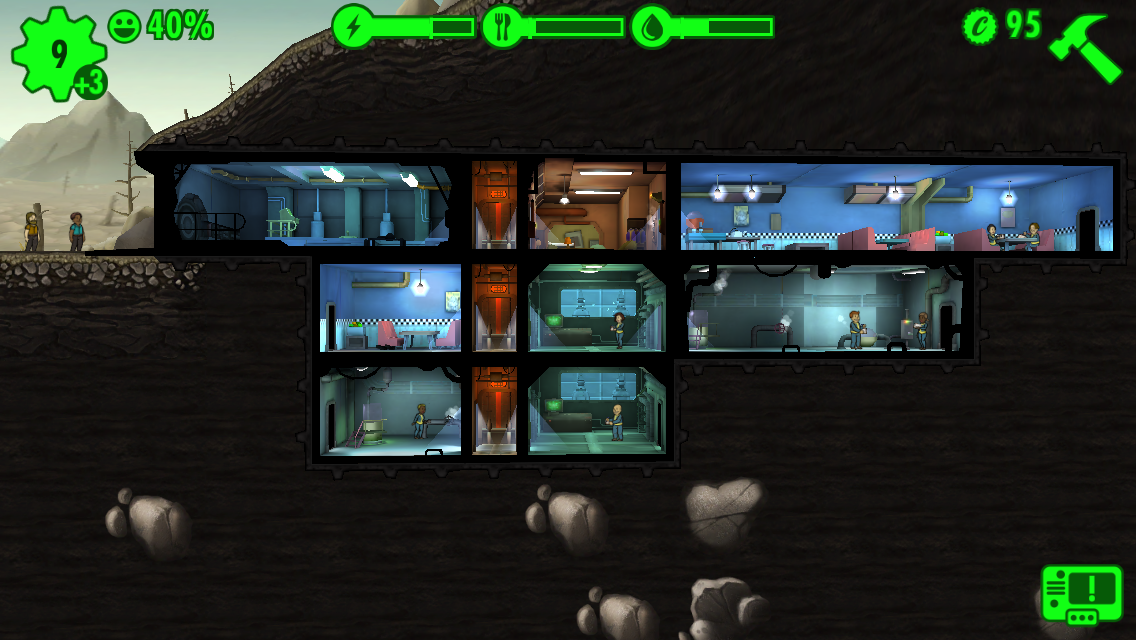 Fallout Shelter androidアプリスクリーンショット1