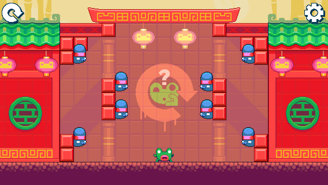 androidアプリ Green Ninja: Year of the Frog攻略スクリーンショット1