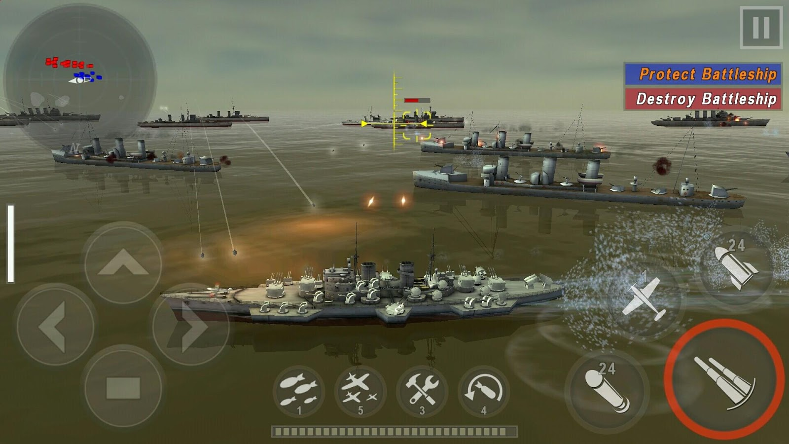 WARSHIP BATTLE androidアプリスクリーンショット1