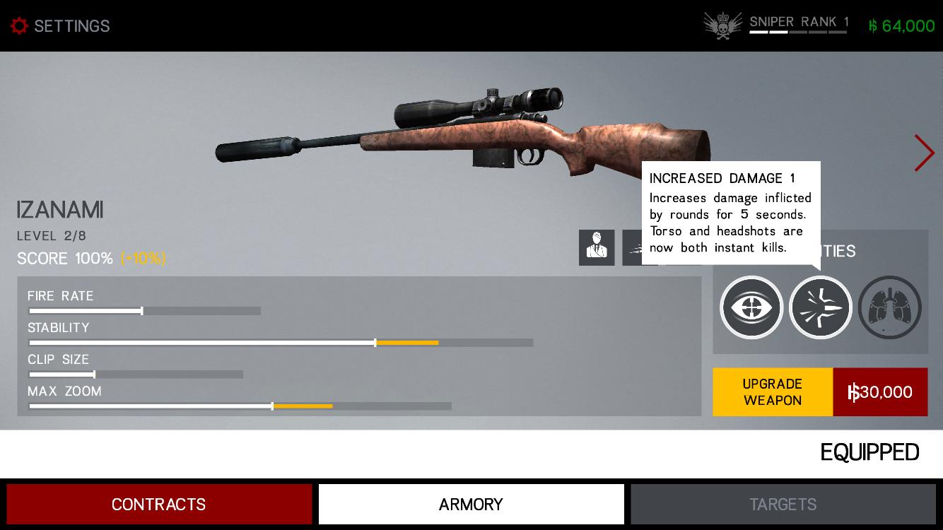 androidアプリ Hitman: Sniper攻略スクリーンショット6