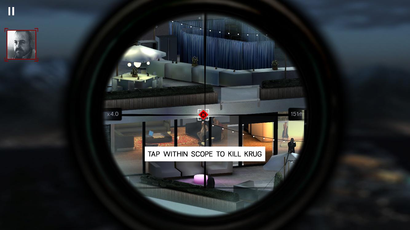 androidアプリ Hitman: Sniper攻略スクリーンショット2