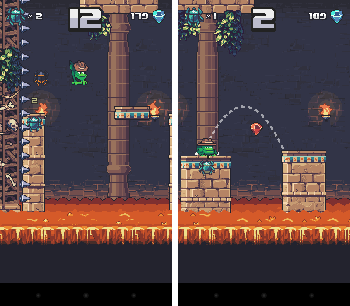 Temple Toad androidアプリスクリーンショット1