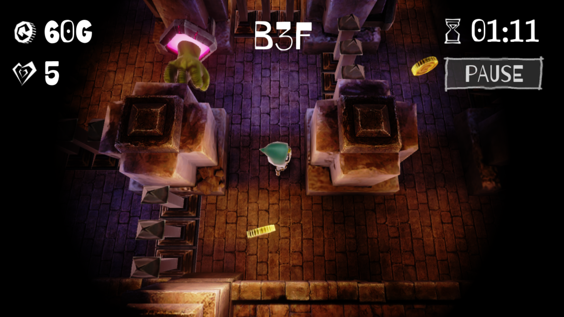 Dungeon&Burglar androidアプリスクリーンショット1