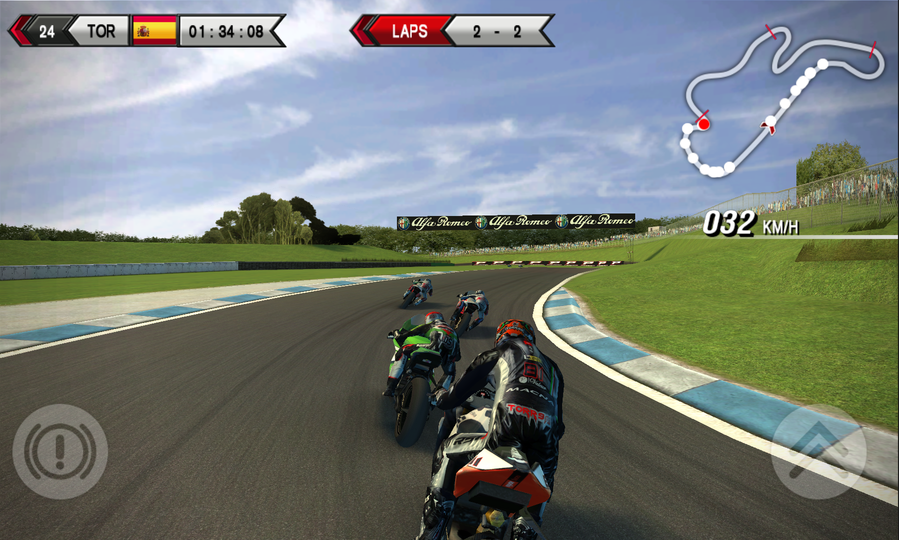 SBK15 Official Mobile Game androidアプリスクリーンショット1
