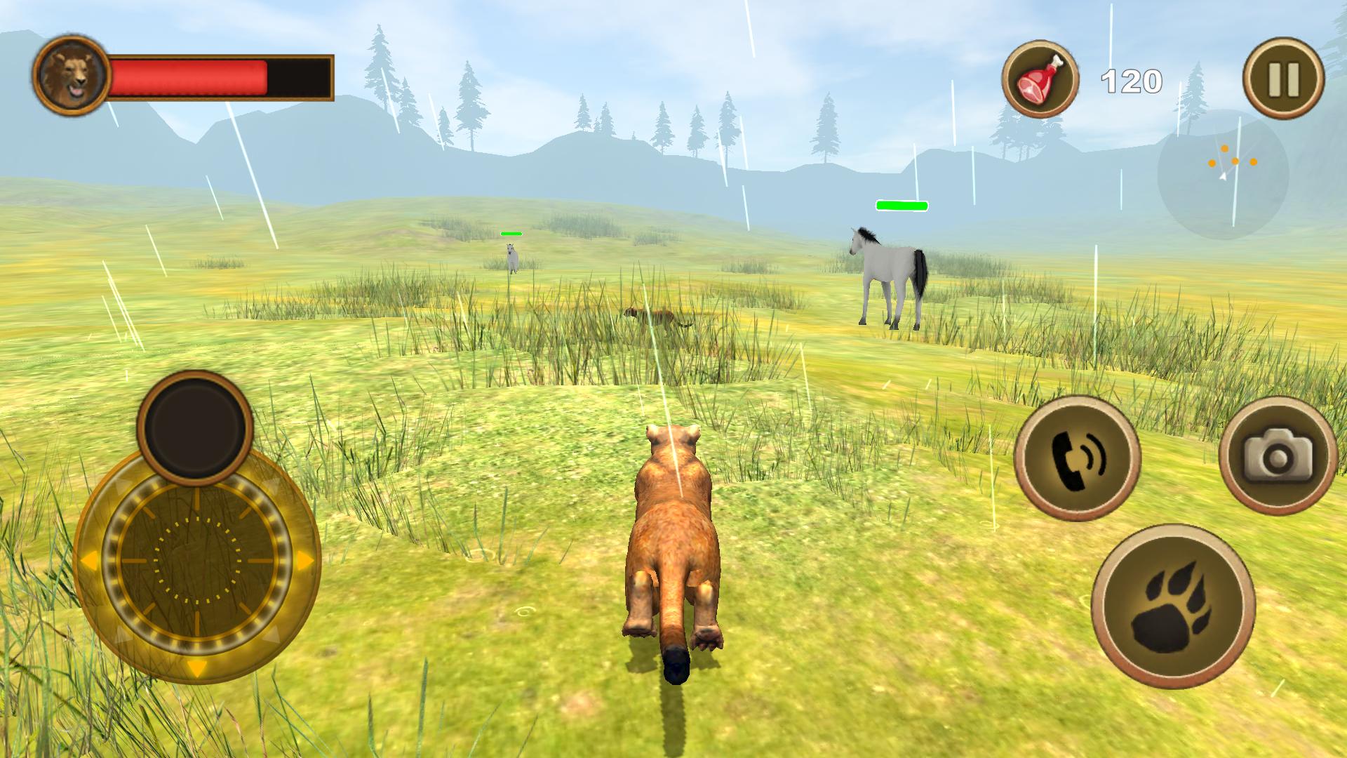 Puma Survival Simulator androidアプリスクリーンショット1
