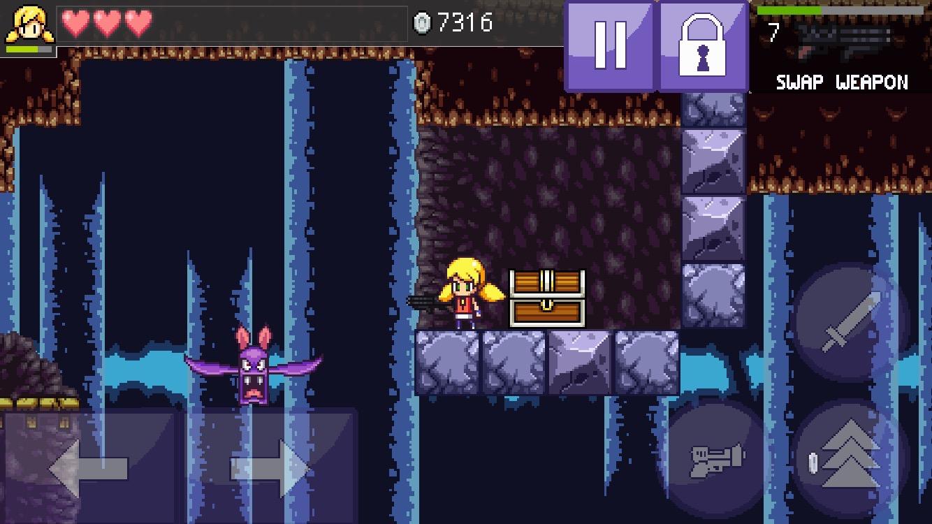 キャリーの洞窟 3(Cally no doukutsu 3) androidアプリスクリーンショット1