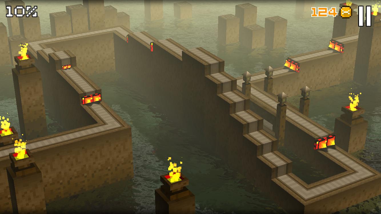 道なりにジャンプ (Cliffy Jump) androidアプリスクリーンショット1