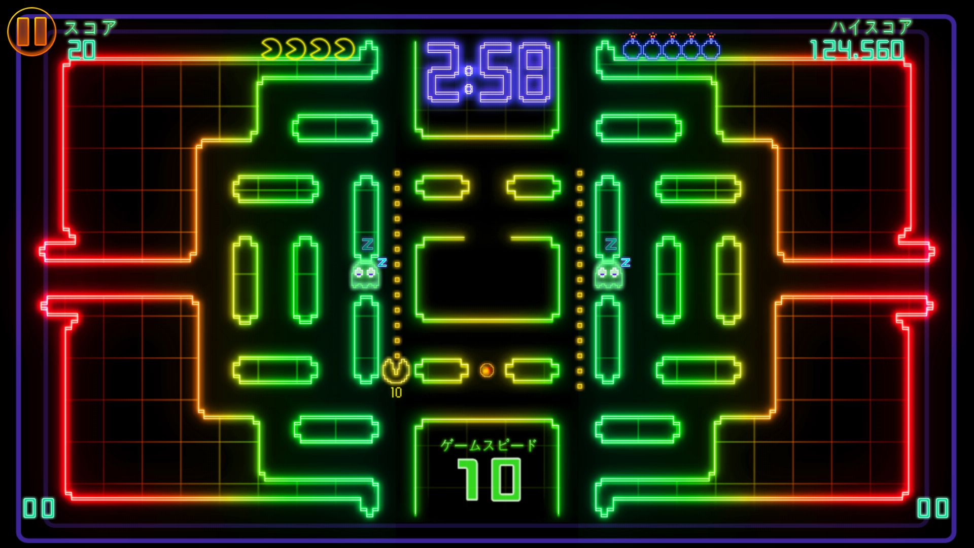 PAC-MAN CE DX androidアプリスクリーンショット1