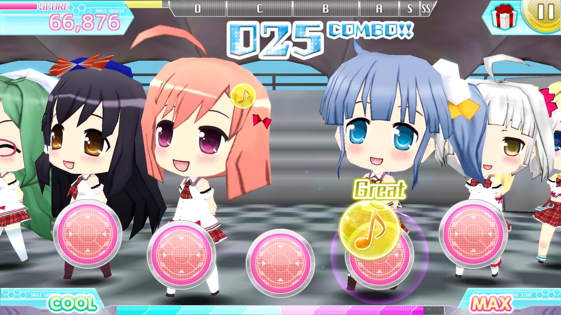 スマイル☆シューター Dear my Dream androidアプリスクリーンショット1