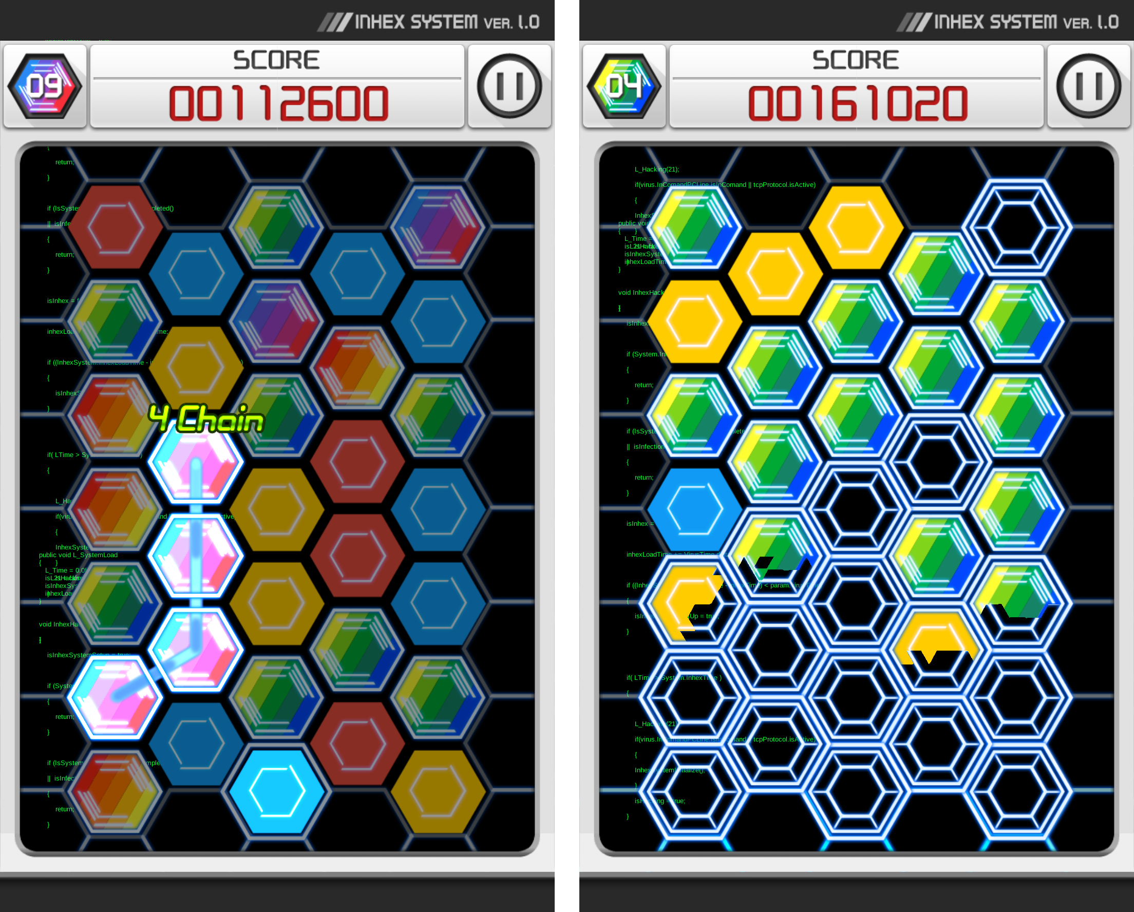 INHEX androidアプリスクリーンショット1