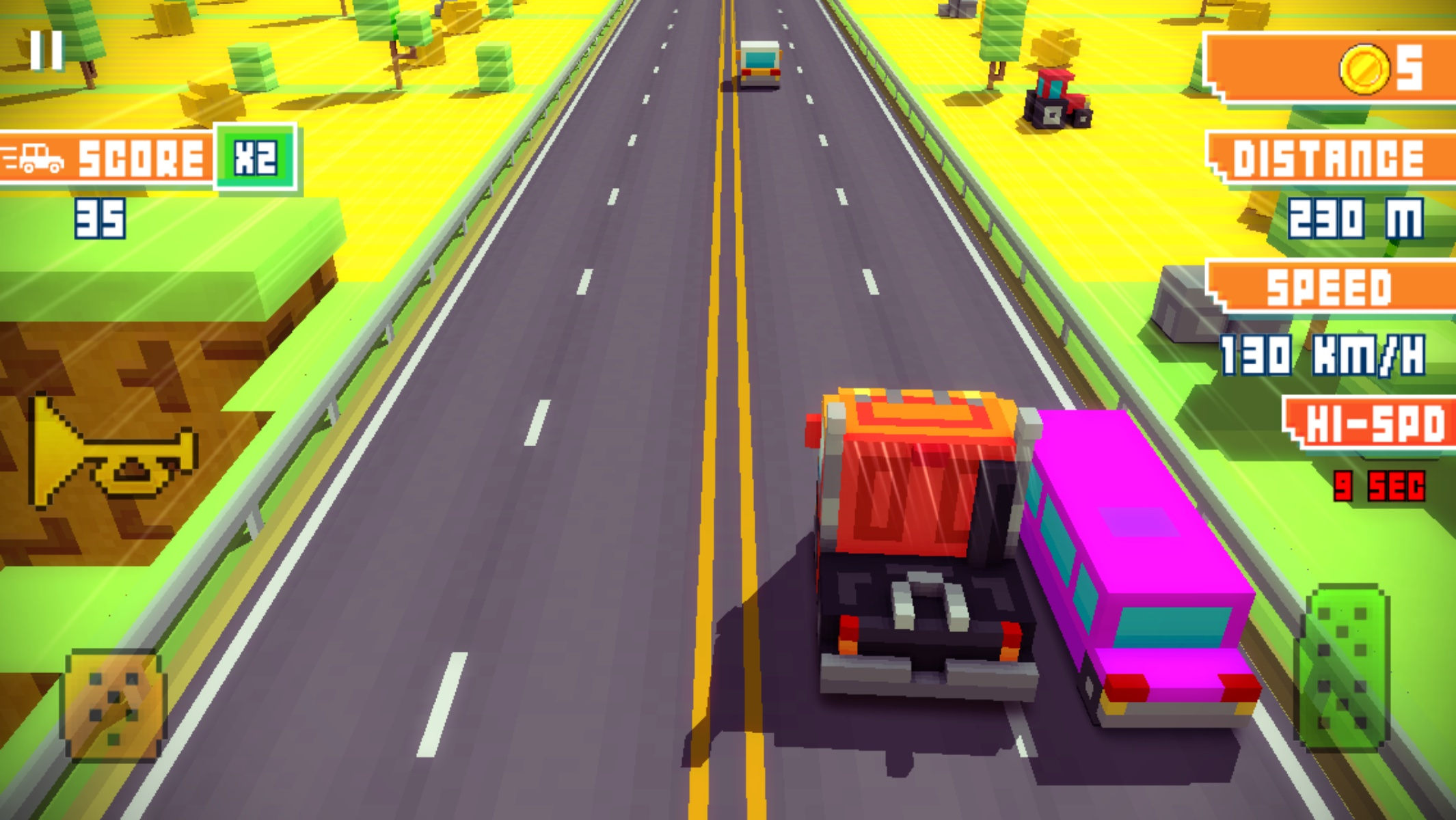Blocky Highway androidアプリスクリーンショット1