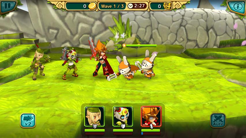 Wakfu Raiders androidアプリスクリーンショット1