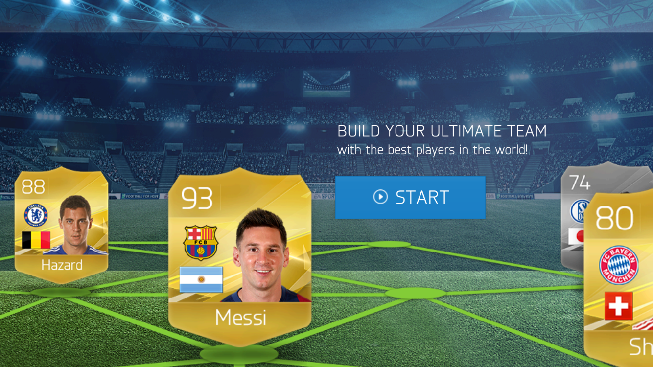 androidアプリ FIFA 16 Ultimate Team™攻略スクリーンショット1
