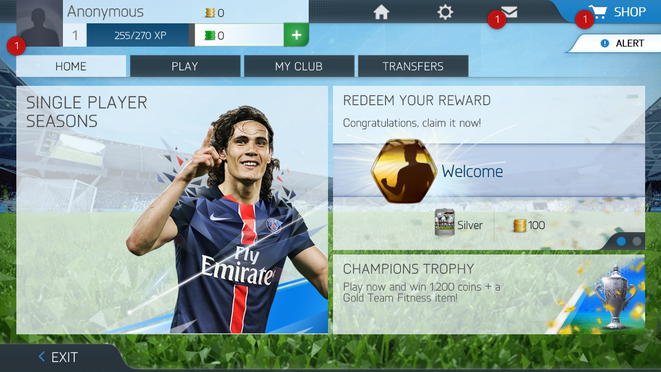 androidアプリ FIFA 16 Ultimate Team™攻略スクリーンショット7