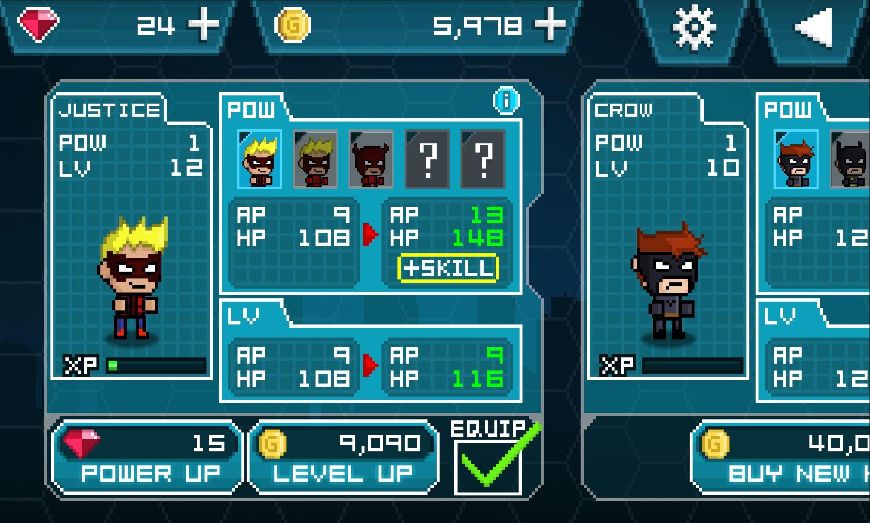 ヒーローX androidアプリスクリーンショット2