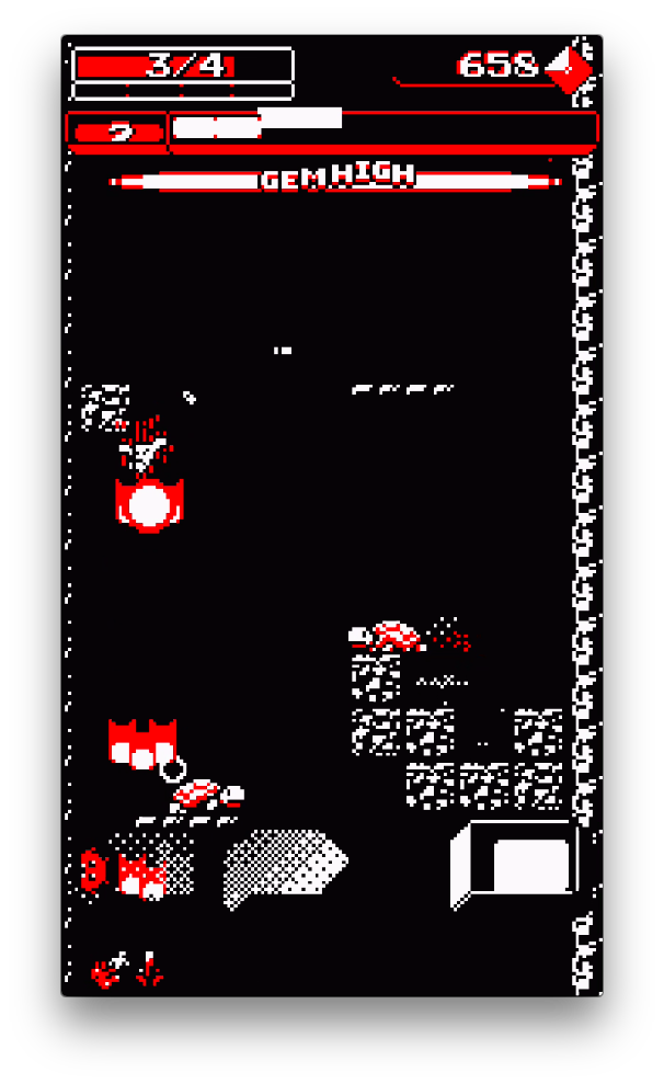 Downwell androidアプリスクリーンショット1