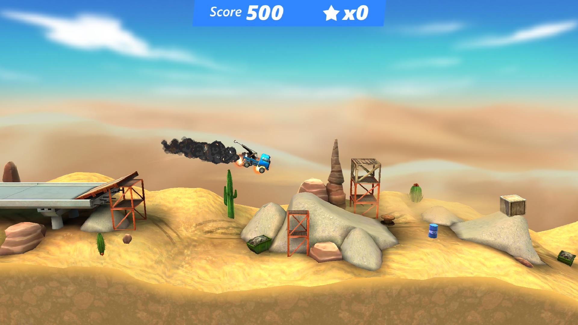 Bridge Constructor Stunts(BC Stunts FREE) androidアプリスクリーンショット1