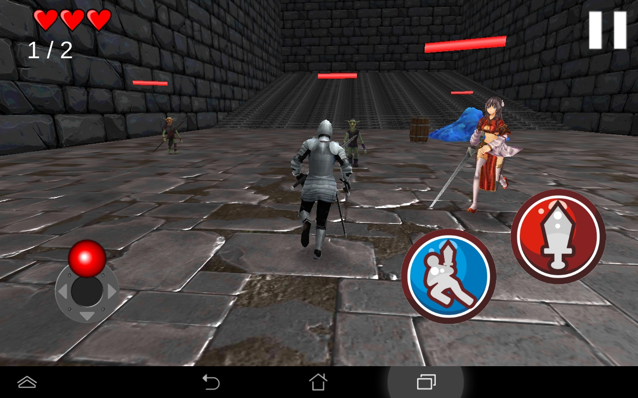 Fantasy Simulator KnightX androidアプリスクリーンショット1
