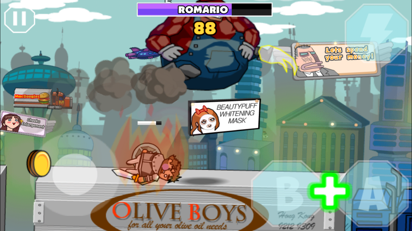 Super Boys - The Big Fight androidアプリスクリーンショット1