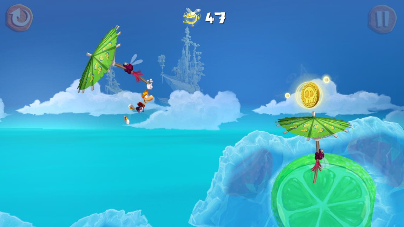 Rayman Fiesta Run(レイマン フィエスタ ラン) androidアプリスクリーンショット1