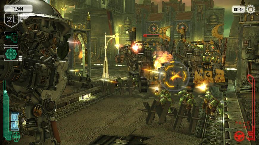 Warhammer 40,000: Freeblade androidアプリスクリーンショット1