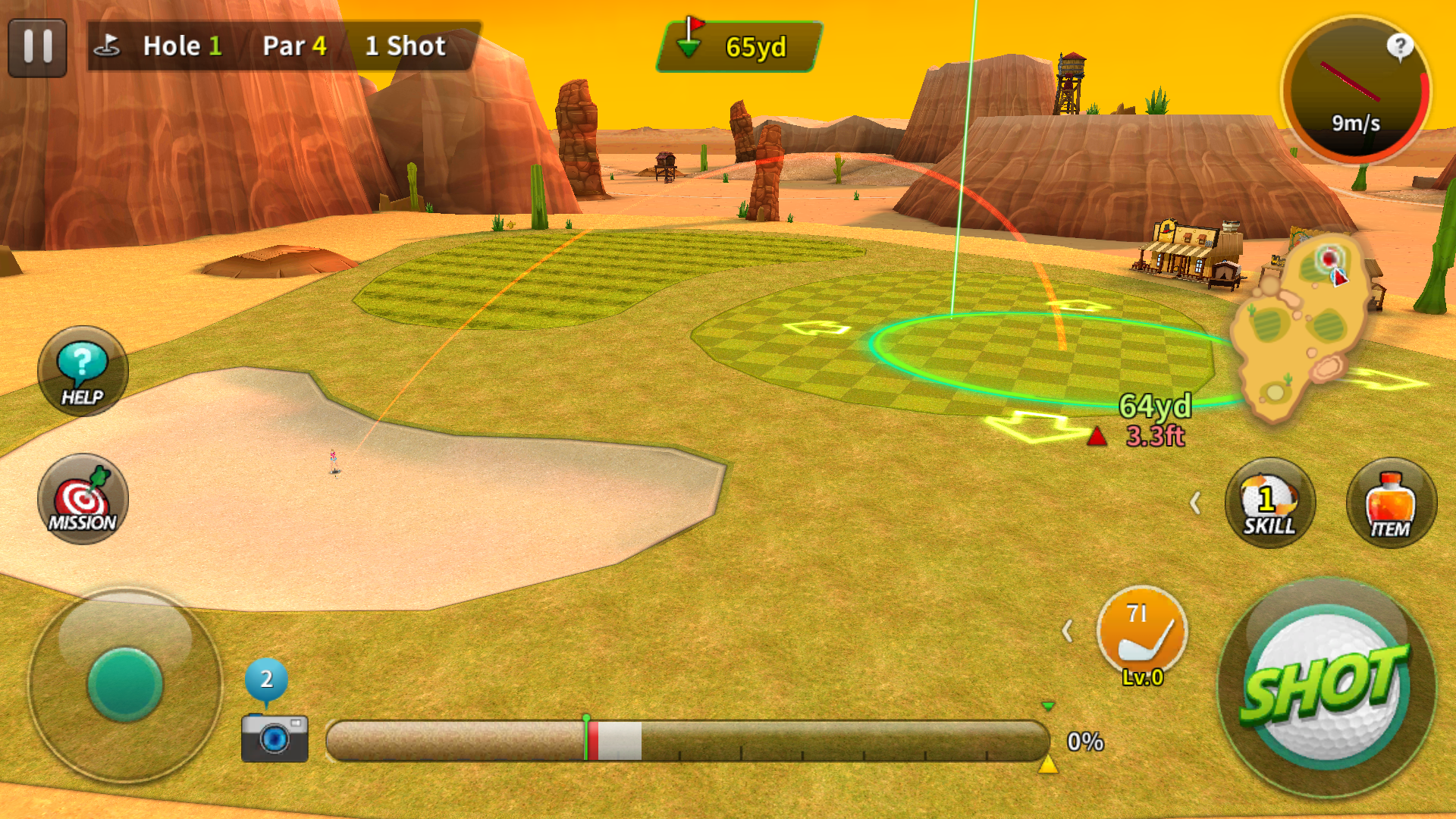 Nice Shot Golf androidアプリスクリーンショット2