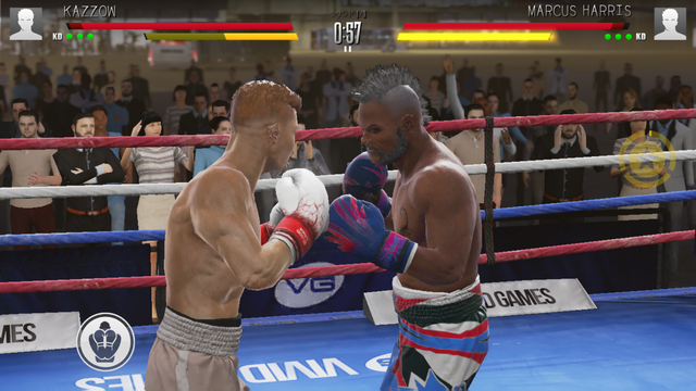 Real Boxing 2 CREED androidアプリスクリーンショット1