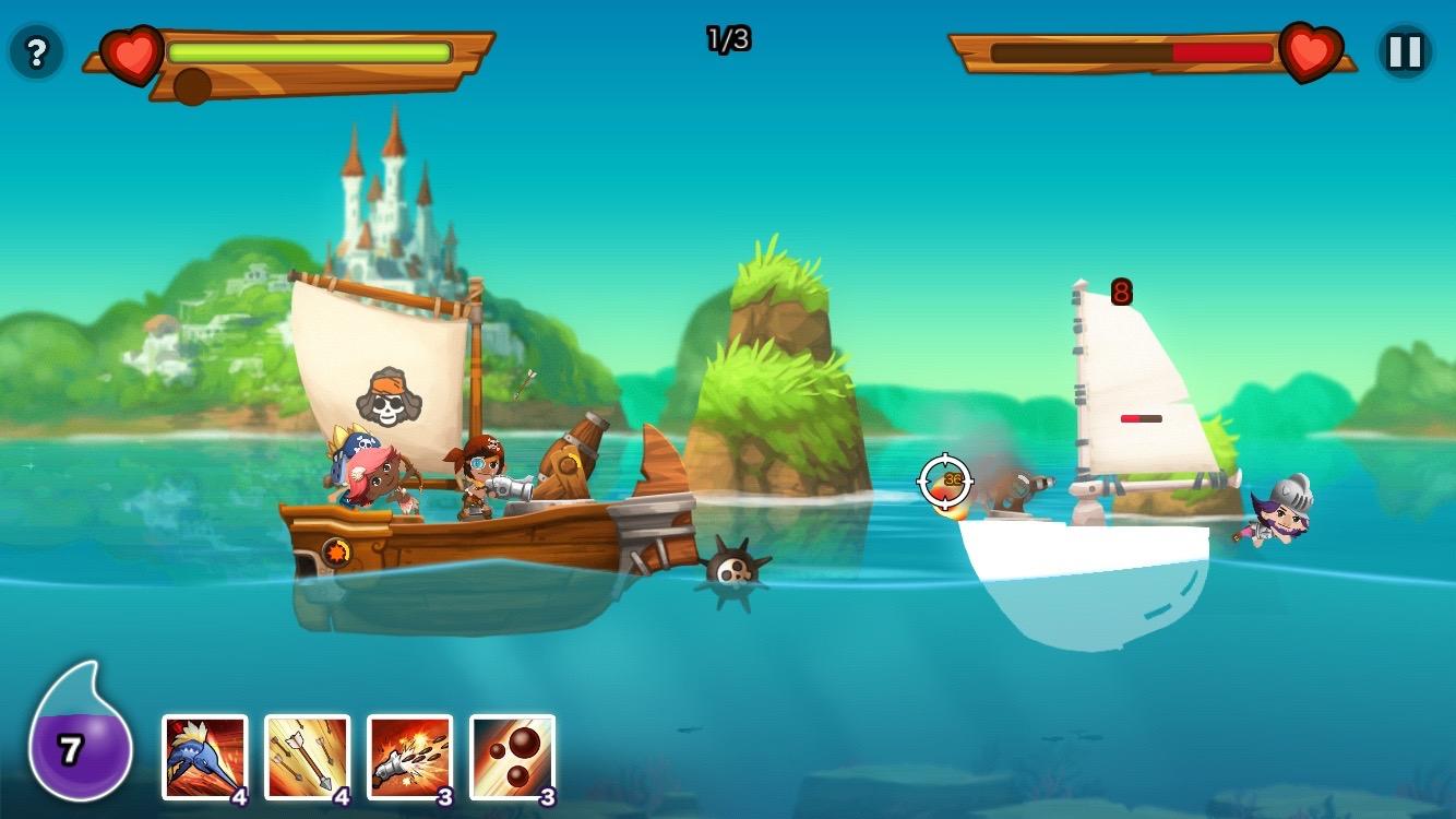 androidアプリ パイレーツストーリー 〜少年海賊サムの大冒険〜攻略スクリーンショット4