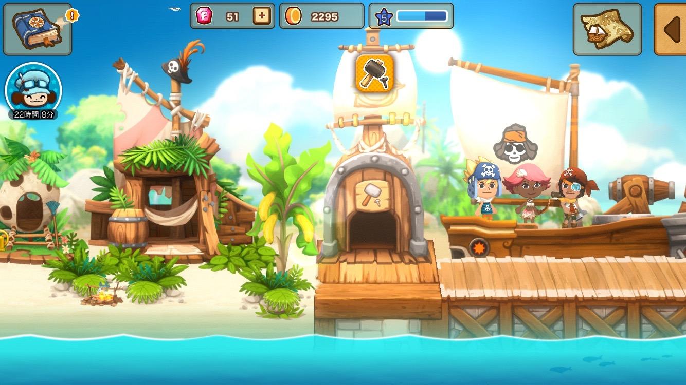 パイレーツストーリー 〜少年海賊サムの大冒険〜 androidアプリスクリーンショット2