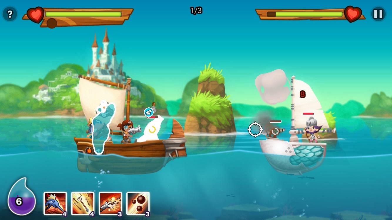 パイレーツストーリー 〜少年海賊サムの大冒険〜 androidアプリスクリーンショット3