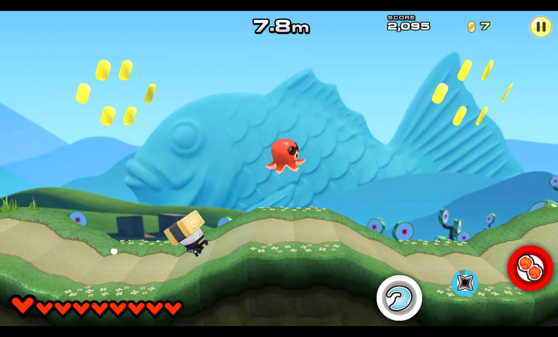 Dash!!スシニンジャ androidアプリスクリーンショット1