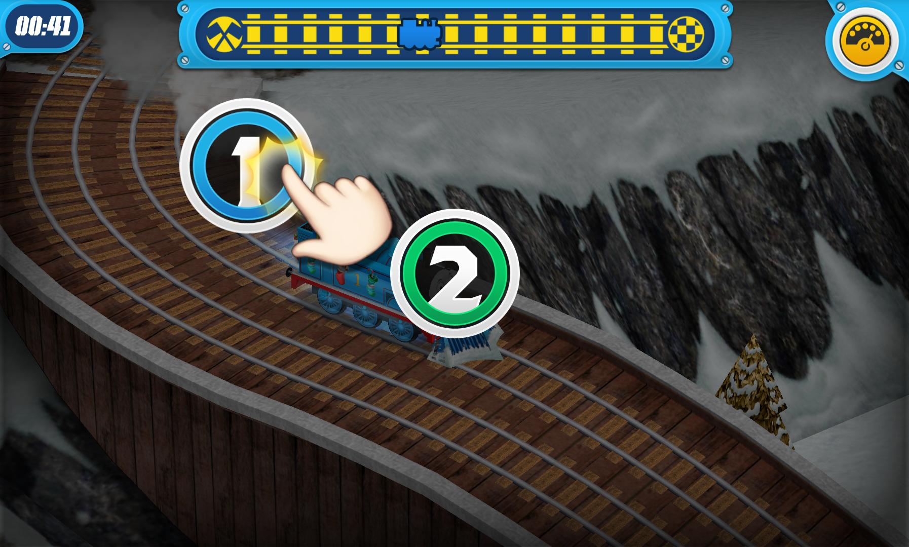 きかんしゃトーマス : レース・オン! androidアプリスクリーンショット1