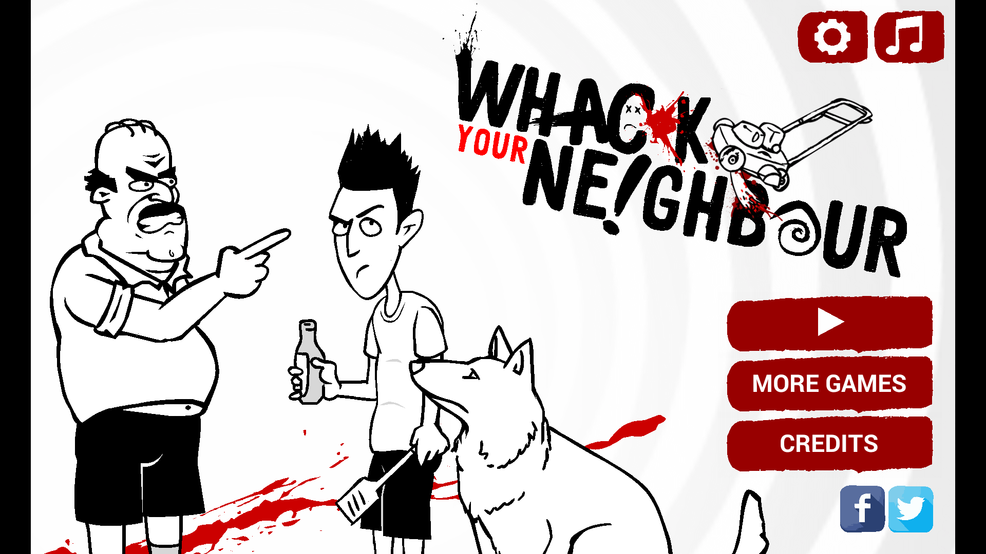 androidアプリ Whack Your Neighbour【R-18】攻略スクリーンショット1