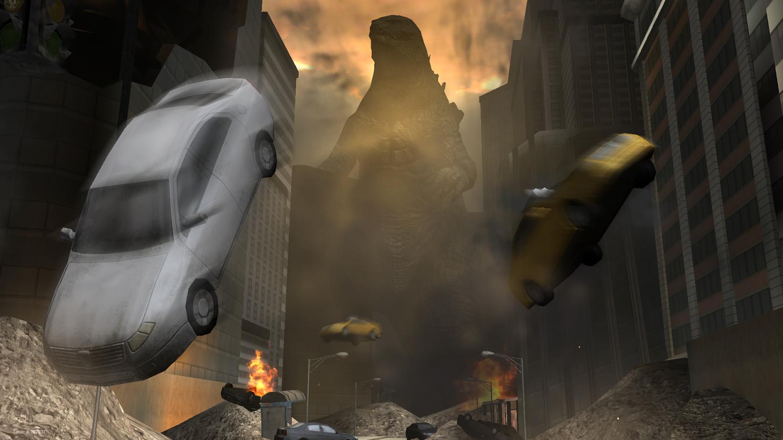 Godzilla: Strike Zone(ゴジラ襲来) androidアプリスクリーンショット1