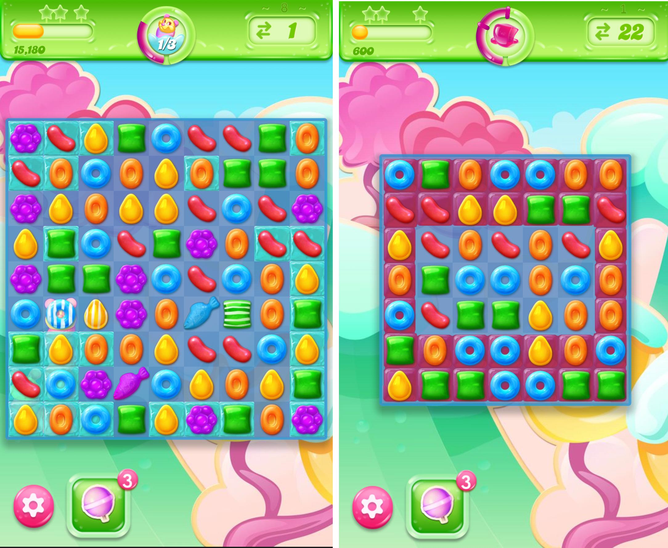 キャンディークラッシュゼリー androidアプリスクリーンショット3