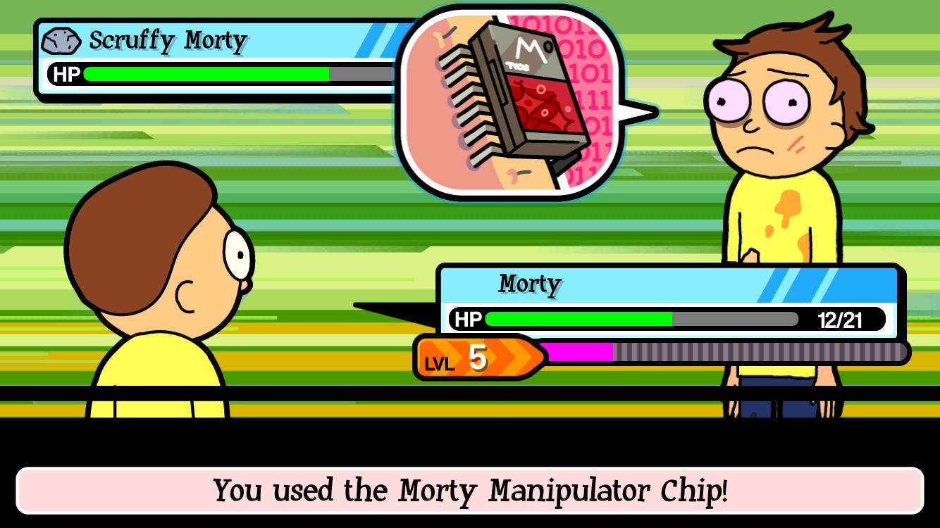 androidアプリ Pocket Mortys攻略スクリーンショット4